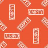 Orange prázdný vzor razítka — Stock vektor