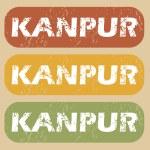 Vintage Kanpur stamp set — Stock Vector #78963298