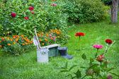 花园工程 — 图库照片