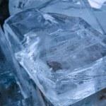 Ice transparent blocks — Stock Photo #57028075