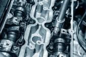 Öppna metall motor — Stockfoto