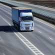 Truck moves on highway — Stock Photo #58103941