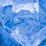 Ice transparent blocks — Stock Photo #63168933