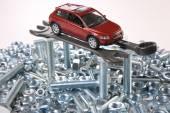 Réparation de voiture — Photo