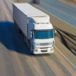 Truck moves on highway — Stock Photo #72453223