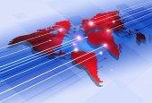 World Digital Communications  — Stock Photo