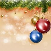 Holiday Christmas Greeting Card — Stock Photo