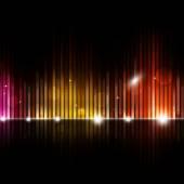 Offuscata equalizzatore musica di sottofondo — Foto Stock