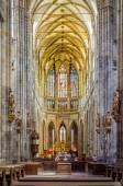 Cathedral at Prague Castle — Foto de Stock
