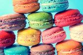 Ciasteczka makaronik — Zdjęcie stockowe