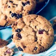 Sweet dry cranberry cookies — Stock Photo #55328921