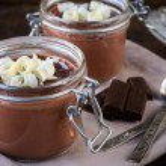 Chocolate pudding — Stock Photo #56579011