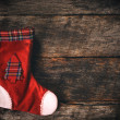 Empty Christmas sock — Stock Photo #58823263