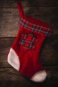 Empty Christmas sock — Foto de Stock
