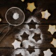 Star shape cookies — Stock Photo #59015651