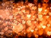 Light Valentine's day background — Stock Photo