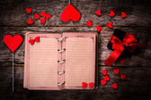 Old love book — Stockfoto