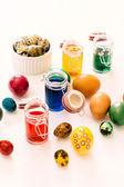Easter eggs concept — Stock Photo