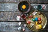 装饰的复活节彩蛋 — 图库照片