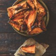 Grilled Slices of pumpkin — Stock Photo #68198413