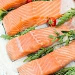 Salmon time — Stock Photo #78756478