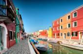 Venice Burano — Stock Photo
