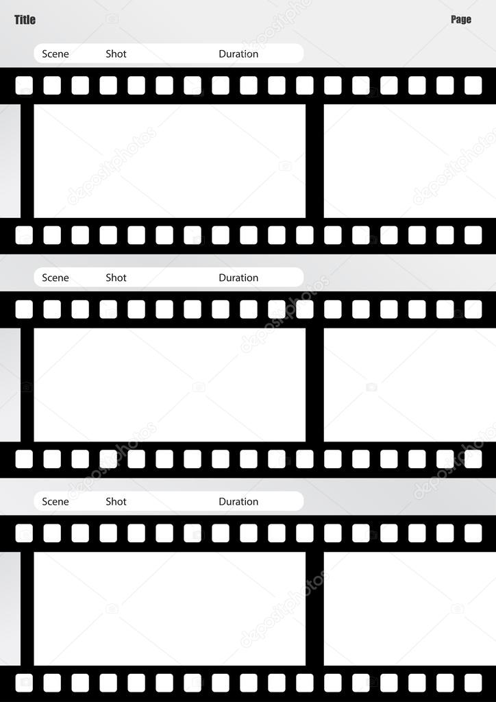 Storyboarding For Film Film Storyboard Template