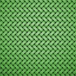 Pattern brick shape middle green — Stock Photo #64523439