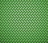 Pattern brick shape middle green — Stock Photo