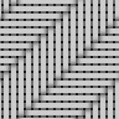 Pattern tube overlap slope enlarge — Stock Photo