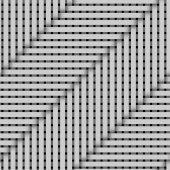 Pattern tube overlap parallel slope enlarge — Stock Photo