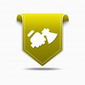 Трудовой дизайн символа — Cтоковый вектор
