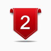 2 aantal Web-pictogram — Stockvector