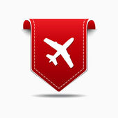 Airplane Sign Icon Design — Stock Vector