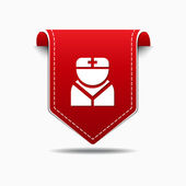 Nurse Icon Design — Vector de stock