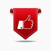 Thumbs Up Icon Design — Vecteur