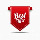 Best Offer Icon Design — Stock Vector