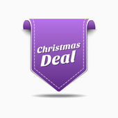Christmas Deal Icon Design — Stock Vector