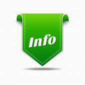 Info Icon Design — Stock Vector