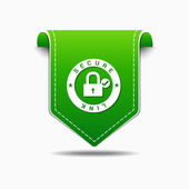 Secure Link Icon Design — Stock Vector