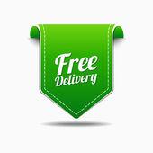 Free Delivery Icon Design — Stock Vector