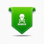 Danger Sign Icon Design — Stockvektor