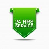 24 時間サービスのアイコン デザイン — ストックベクタ