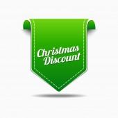 Christmas Discount Icon Design — Stock Vector