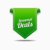 Seasonal Deal Icon Design — Stock Vector