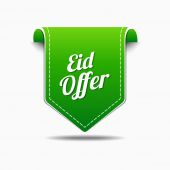 Eid Offer Icon Design — Stock Vector