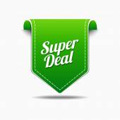 Super Deals Icon Design — Stock Vector