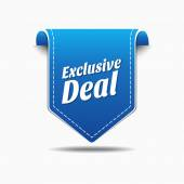 Exclusive Deal Icon Design — Stock Vector
