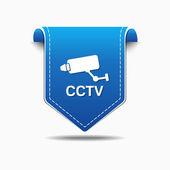 CCTV Sign Icon Design — Stock Vector