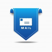 Mail Sign Icon Design — Stock Vector